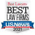 US News Best Law Firms 2020 award