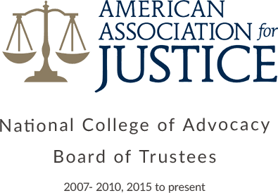 National College of Advocacy Board of Trustees: 2007- 2010, 2015 to present